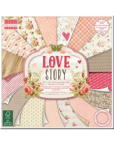 Colección papeles LOVE Story