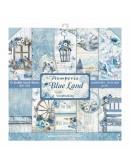 "Colección Blue Land 12x12"" Stamperia SBBL47"