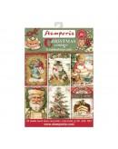 Set de 24 tarjetas Stamperia Christmas Vintage