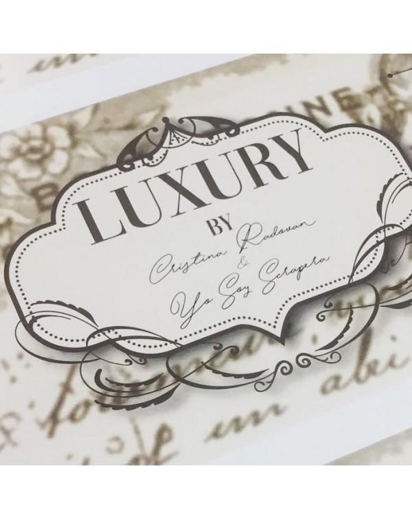 Luxuri Colección papeles Cristina Radovan