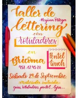 50 % Reserva taller de Lettering con Regina Ortega