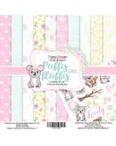 Set Puffy Fluffy Girl 10 PAPELES DOBLE CARA
