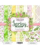 Set Spring blossom 10 PAPELES DOBLE CARA