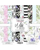 Set Wild orchid 10 PAPELES DOBLE CARA