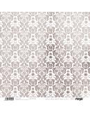Papel basico arabesco plata