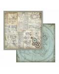 """Colección Voyages Fantastiques 12x12"""" stamperia SBBL53"""