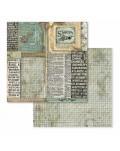 "Colección Voyages Fantastiques (22 papeles) 12x12"" stamperia SBBL53"