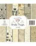 Amelie Old Paper (SET 6 PAPELES + PORTADA)