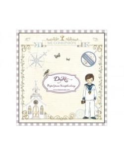 Colección papel comunion niño doble cara 24 hojas 20 x 20 cm Dayka SCP1008