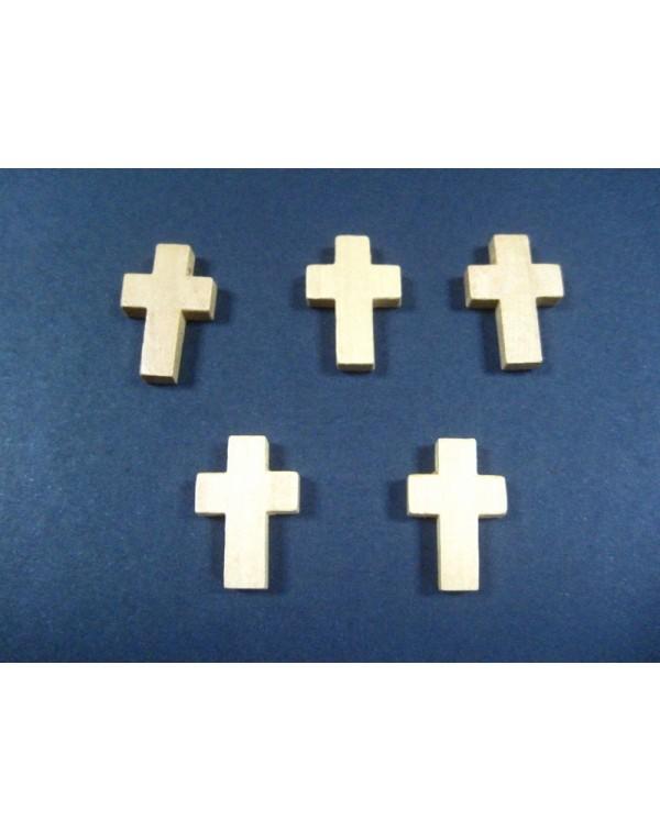 5 Cruces madera