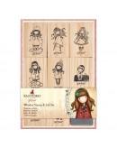 Set de sellos de madera y tinta GORJUS