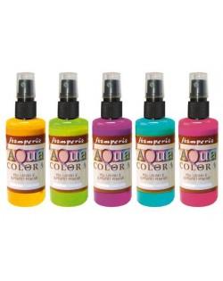 Aquacolor Spray colores vibrantes