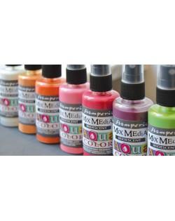 Aquacolor Spray colores perlados e iridiscentes