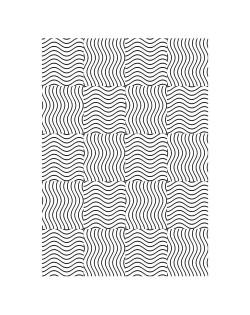 Carpeta embosing dibujo geometrico