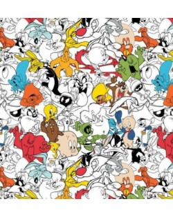 Tela Looney Tunes (25 x 110 cm)