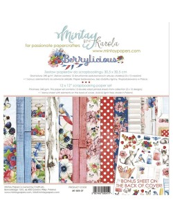 MINTAY BY KAROLA SET PAPEL 12x12'' - Berrylicious