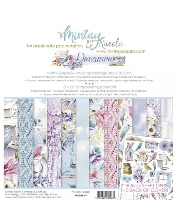 MINTAY BY KAROLA SET PAPEL 12x12'' - Dreamer