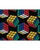 Tela cubo de Rubik (25x110 cm.)
