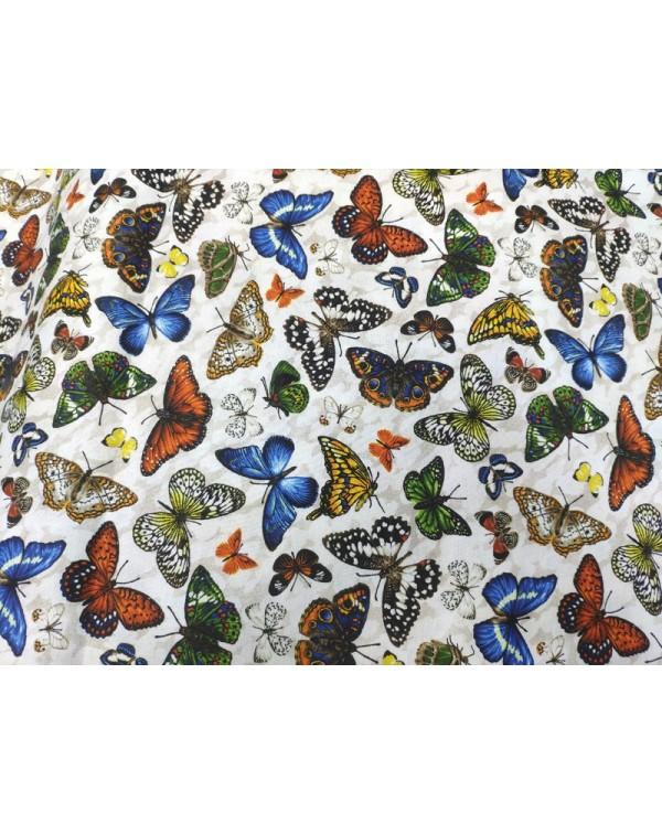 Tela mariposas (25x110 cm.)
