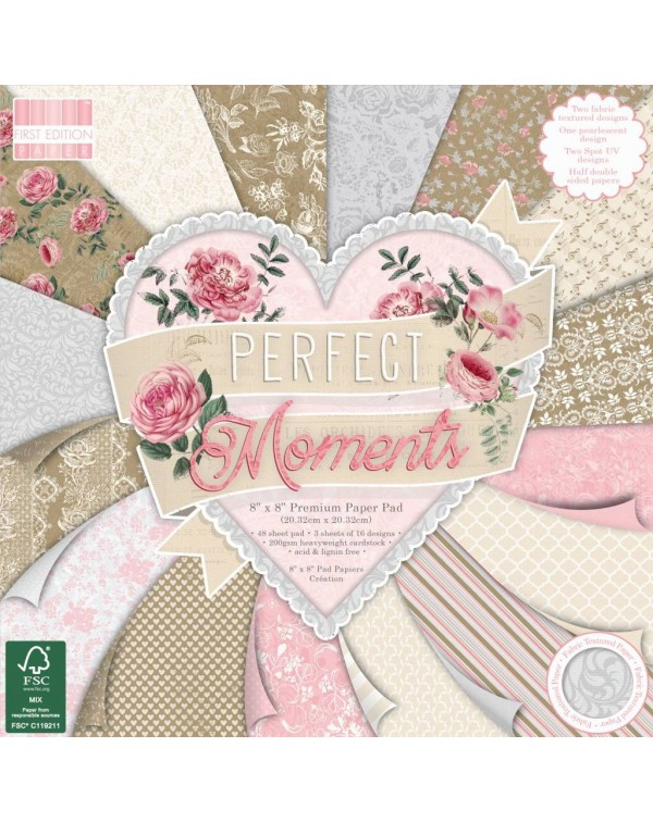 Perfect Moments – Pad 8″x8″  First Edition Paper