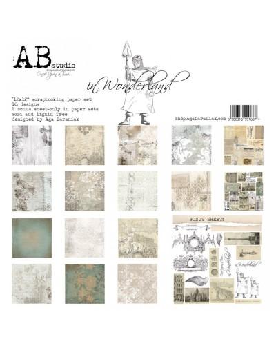 In Wonderland AB STUDIO 30x30 8und.