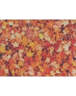 Tela fondos hojas (25x150 cm.)