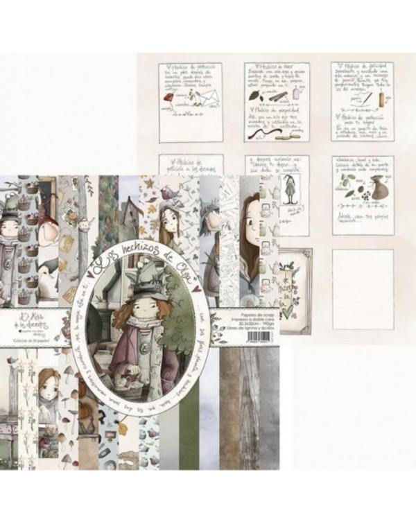 Los hechizos de Olga (Coleccion 14 papeles)