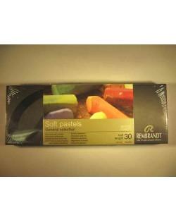 Caja 30 1/2 pasteles Rembrandt