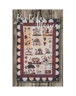 Libro-Revista de patchwork puntadas magicas Nº2